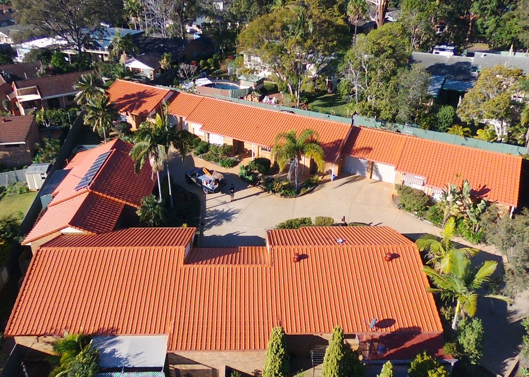 port macquarie resealing resurfacing spray stencil roof restorations driveway repairs