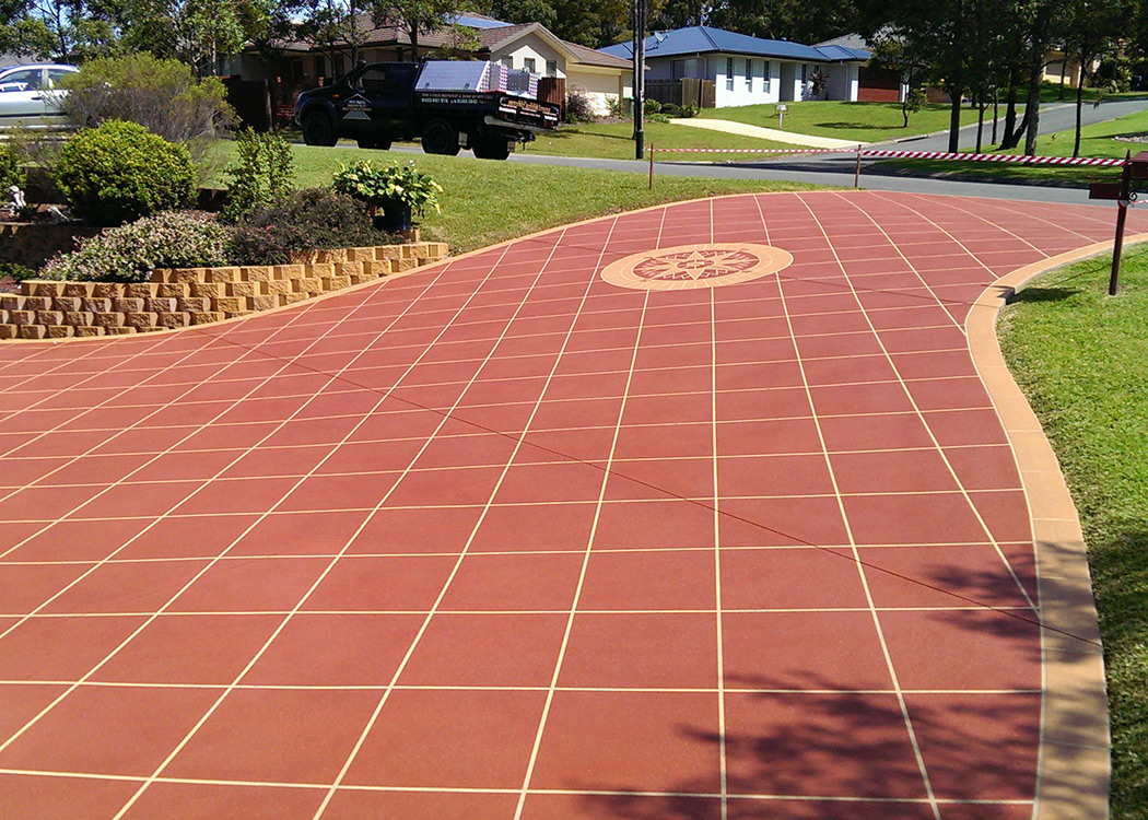 port macquarie resealing resurfacing spray stencil restorations driveway repair